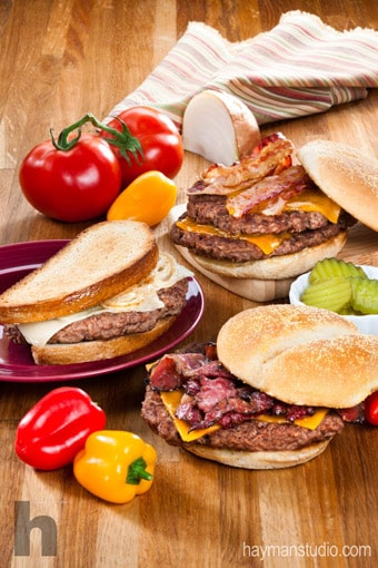Burgers on Rutter's Farm Store Fresh Food menu.