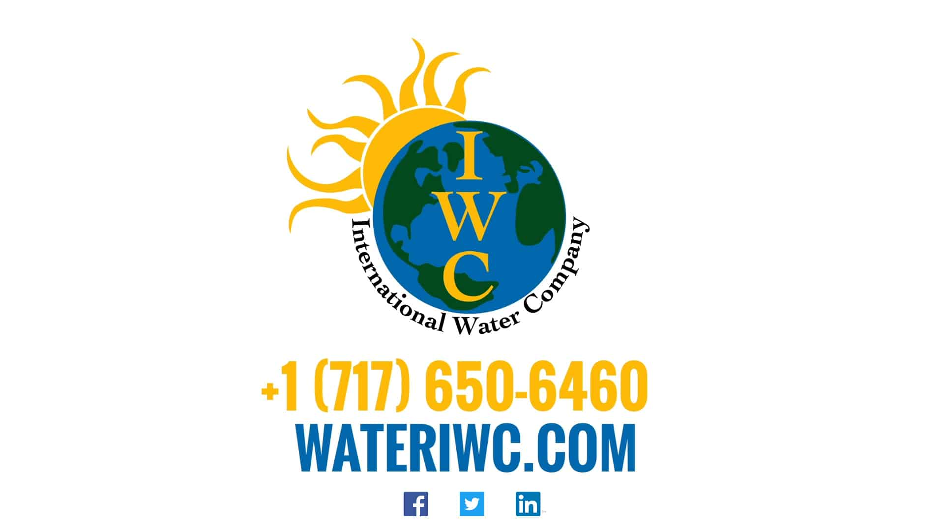 International Water Company- Mobile Water Purification System