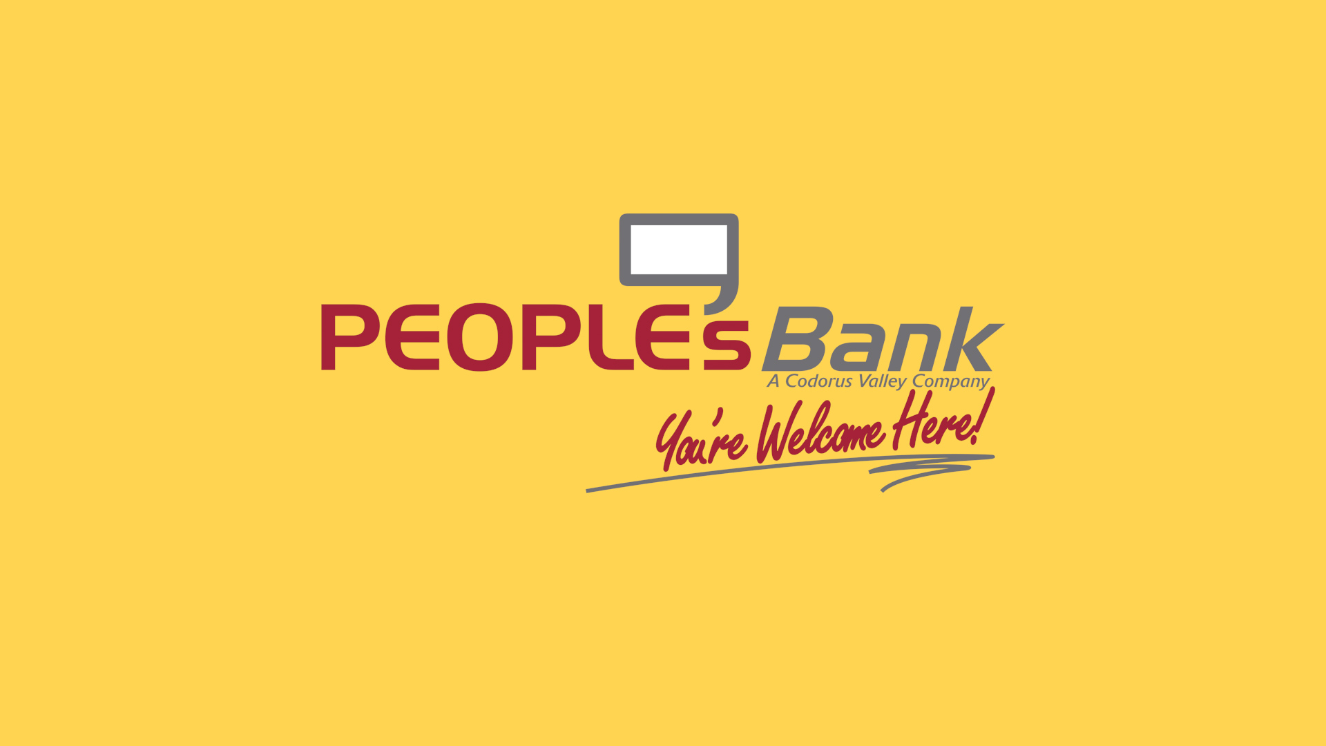 Peoples's Bank CEO Welcome Video